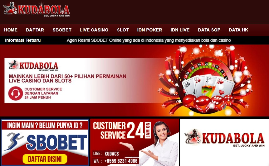 Kudabola Situs Judi Bola Online Terpercaya Di Indonesia